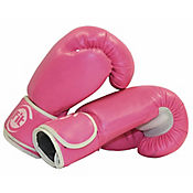Guante Boxeo Fundamentación 10 Oz Rosa