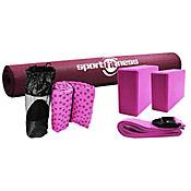 Kit Yoga Con Toalla Em3028 Rosa