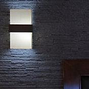 Aplique de muro franja madera