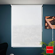 Persiana Solar Screen Blanca