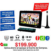 TV HD Portatil 7 Pulgadas