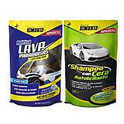 Shampoo con Cera + Lava Parabrisas Doy Pack