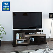 Rack para TV Le Blanc 58x139.3x51.8cm Roble Ahunado + Olmo