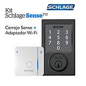 Kit Sense Century Negro+Adaptador Wifi Br400