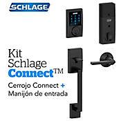 Kit Connect Century Negro+Manijón  Schlage