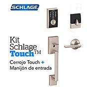 Kit Cerradura Digital Touch Century Satín+Manijón