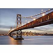 Fotomural Bay Bridge 3,68x2,54 Metros