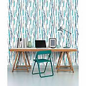 Papel Mural Rayas Colores 53 cm x10 Mts Pop Colors
