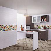 Base Decorada Cerámica Praline 30x60 Centímetros Multicolor