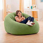 Puff Inflable Verde 124 x 119 x 76 cm