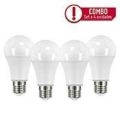 Set x4 Bombillo LED 1060Lm 10.5W E27 Luz Día