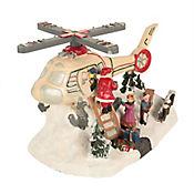 Villa Helicóptero Led Santa