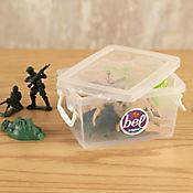 Mini Caja Organizadora 6x9x13 cm 400 Ml Transparente