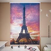 Persiana Enrollable Solar Screen 160x180 cm Atardecer París