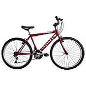 Bicicleta Mtb Hombre 26 18 Cambios Roja Bt261804