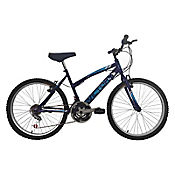 Bicicleta Mtb Dama 26 18 Cambios Morado Bt261809