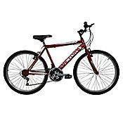 Bicicleta Mtb Niño 20X2 18 Cambios Roja Bt201804