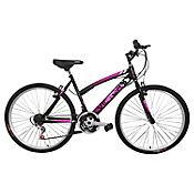 Bicicleta Mtb Niña 20X2 18 Cambios Negra Bt201806