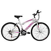 Bicicleta Mtb Niña 20X2 18 Cambios Blanca Bt201807