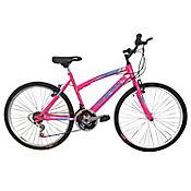 Bicicleta Mtb Niña 20X2 18 Cambios Rosado Bt201808