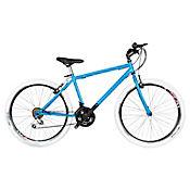 Bicicleta Mtb Urb R- 26 Shim 21 Vel Azul Btu261809