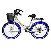 Bicicleta Playera R- 26 18 Cambios Beige Bpla2606