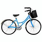 Bicicleta Playera R- 24 S/Cambios Azul Bplas2401