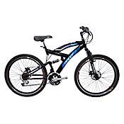 Bicicleta Caronte Rin 26 18 Cambios Negra BGWC2601
