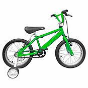 Bicicleta Niño R- 16 C/Auxiliares Verde Bin1601