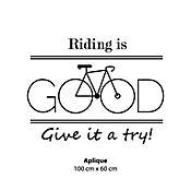 Aplique Bicicleta Good
