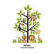 Aplique Árbol Animalitos