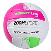 Balón Zoom Volley Lite No.5 Rosado y Verde