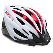 Casco Bike Zoom Blancorojo Talla M (55-58)