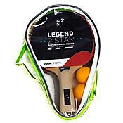 Set Tenis De Mesa Legend 2 Stars 2 Raquetas Mango Anatómico - 2 Pelotas