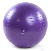 Gymball Zoom Fitness 65 Cm Morado