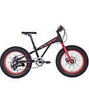 Bicicleta Cliff Lizard F24 Black/Red