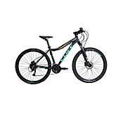 Bicicleta Cliff Muddy 7W S 27.5 Black/Green