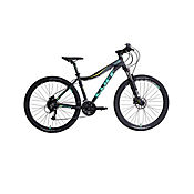 Bicicleta Cliff Muddy 7W M 27.5 Black/Green