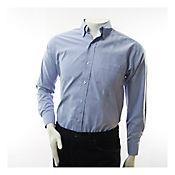Camisa Dotacion Tipo Oxford Azul Talla L