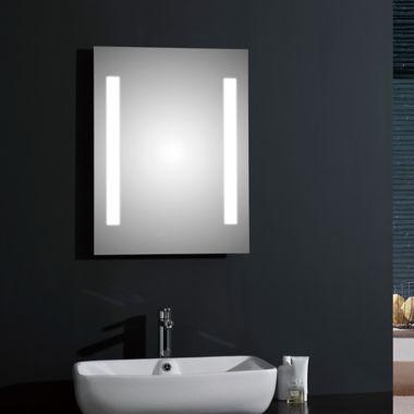Espejos Para Bano Con Luz.Espejo Paris Con Luz Led Y Desempanante 50x70 Centimetros