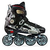 Patines Slalom MZS507 Negro - Gris Talla 42