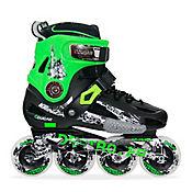 Patines Slalom MZS507 Negro - Verde Talla 38