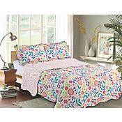 Quilt Floral Sencillo 180x250 cm