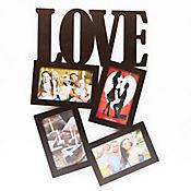Portarretratos Love 4 Fotos