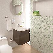 Pared Cerámica Blend Verde Cara Única 25x43.2 Caja 1.29 m2