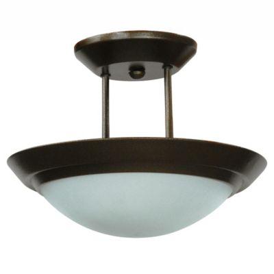 d180e21ba52a2 Lámpara de Techo Army Satin 30 Watts 2 Luces Color Anticado - Ilumeco -  335515