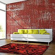 Tapete Ikat 160x230 cm Rojo