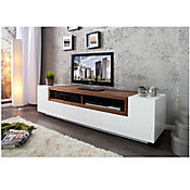 Mesa para TV Bosselly 170x40x50cm Blanco