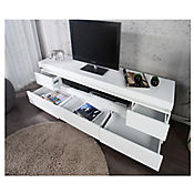 Mesa para TV Ocean 180x40x50cm Blanco