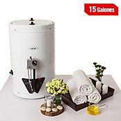 Calentador de Acumulación 15 Galones a Gas Natural Blanco